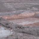Aushub des Grundstücks (17.03.2012)