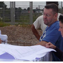 Beratungen mit dem Architekten (31.07.2012)