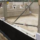 Die ersten Fensterstürze und Zwischenwände - im künftigen Judoraum (08.08.2012)