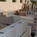 Die Außenmauern haben die Endhöhe erreicht (09.08.2012)