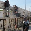 Mit Senklot, Wasserwage und Kelle: Perfektes Teamwork für den TVR (14.08.2012)