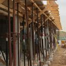 Einschalung des ersten Stockwerks (30.08.2012)