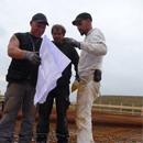 Setzen der Stahlarmierungen (05.09.2012)