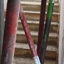 Die Treppe zum ersten Stock wird gegossen (12.09.2012)