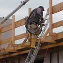 Vorbereitungen für den Dachbau (12.09.2012)