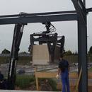 Steine für den Ausbau des ersten Stockwerks (21.09.2012)
