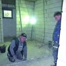 Die letzten Maurerarbeiten im Erdgeschoss (05.10.2012)