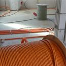 Noch mehr Kabel für das neue Vereinsheim (09.10.2012)