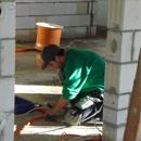 Die Elektriker sind im Obergeschoss angekommen (22.10.2012)