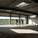 Fenster zur Bezirkssportanlage (22.10.2012)