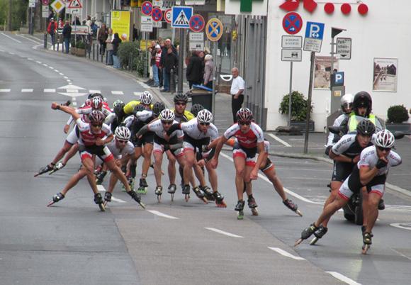 Inline Skater Köln Marathon