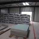 Das Baumaterial für die Fußbodenheizung ist auch schon da (21.11.2012)