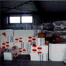 Material über Material – alles für die Fußbodenheizung (21.11.2012)