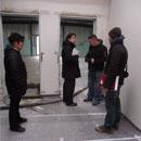 Baubesprechung mit den TVRlern (06.12.2012)