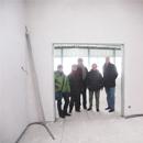Besichtigung der oberen Etage des Vereinsheims (28.01.2013)