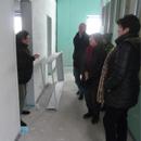 Der Vorstand ist begeistert vom Fortschritt der Bauarbeiten (28.01.2013)