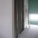 Vorarbeiten für den Aufzug (19.02.2013)